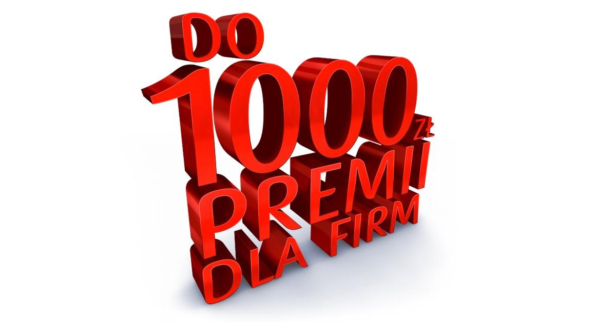 1000 zł dla firm