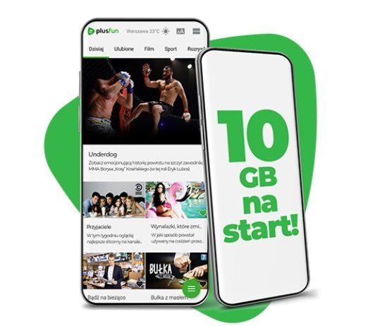 10 GB internetu za darmo