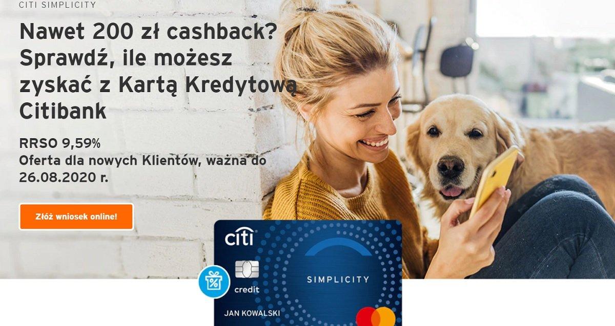 Karta kredytowa Citi