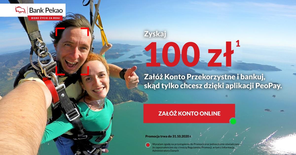100 zł łatwej premii