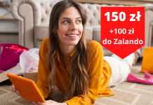 100 zł do Zalando