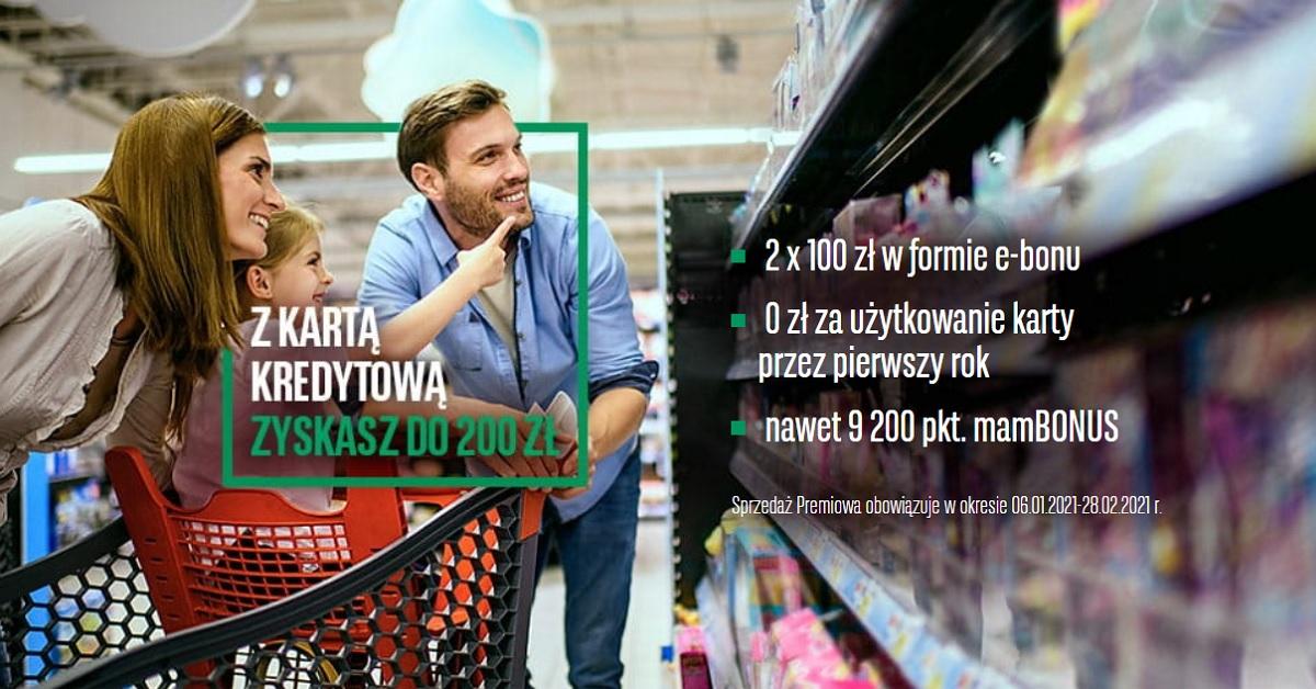 200 zł do Carrefour
