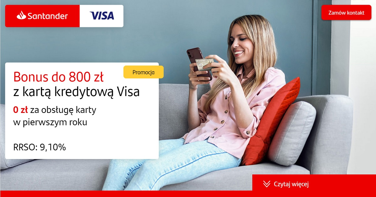 karta kredytowa santander