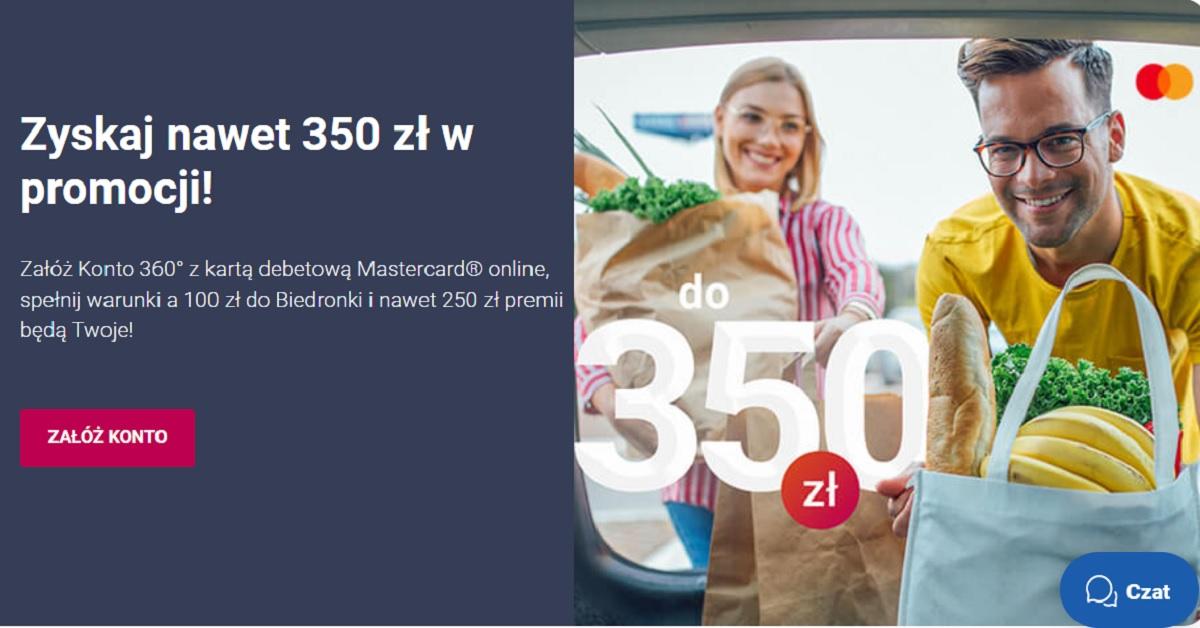 350 zł za Konto 360°