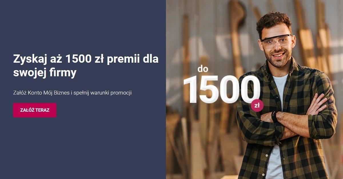 1500 zł od Banku Millennium